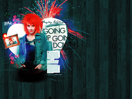 Hayley Williams Wallpaper by vintagevic