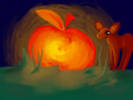 when apple came from space by l-sofie