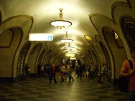 More Moscow Metro by mamc1986