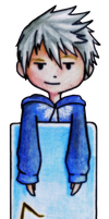 Chibi Jack Frost Bookmark by Mimint