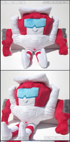 Transformers MTMTE Swerve Plush by Mazzlebee