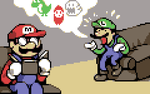 BUT MARIO by OCEANSCENTED