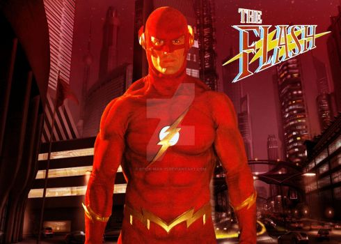 The Flash 1990 by stick-man-11