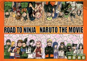 Road to Naruto the Movie Cover by johnny182ee