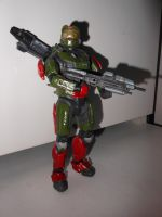 Halo Reach Andrew Figure Front II by chaptmc
