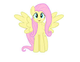 Fluttershy Cute Smile by Legeden