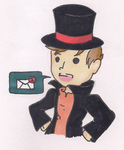 Professor Layton :: ASK Blog [ OPEN ] by CinnamonCreampuff
