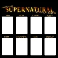 Supernatural cosplay meme by fibithemad