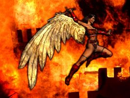 Furious Angel by Hellwolve