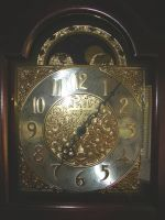 Metallic Clock Face by FantasyStock