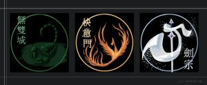 emblems for the FWO clans by dewdrop