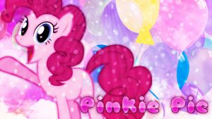 Pinkie Pie Desktop Wallpaper! by xRandomGurl