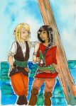 London and Maddie: Pirates of the Tipton by SonicPossible00