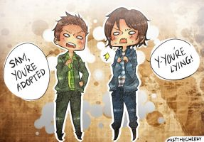 The Winchesters - SPN by kiruiru