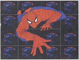 The Bizarro Spiderman by newmie1991