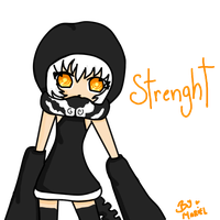 Strenght Chibi by luckygirlmarina