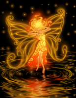 The Fire Fairy by Starwarrior4ever