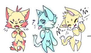 Cat Adoptables -closed- by the-emo-wolf