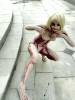 Attack on Titan - The Female Titan by Sasurealian