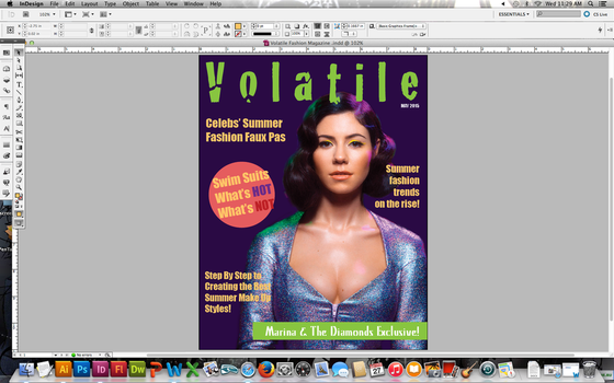 Volatile Magazine cover by trinityblood96