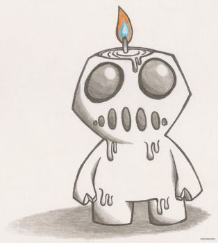 Candle Boy by Tv-dinner