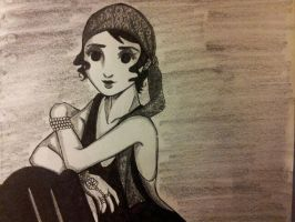 1920's Woman by Millie-Rose13