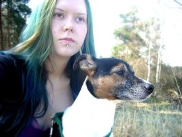 Me and Loki 10/04/15 by BeastClementine