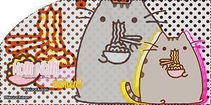 Pusheen Ramen by MikuuChaan