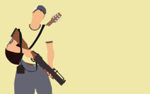 L4D2 Ellis Minimalist Wallpaper by bohitargep