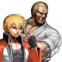 Fatal Fury : Geese by oetaro