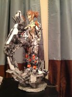 Armor partially attached 2 by JarrethGolding