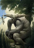 The fairy and the troll by Jukka-R