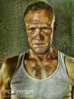 The Walking Dead: Merle: Fractalius Re-Edit by nerdboy69