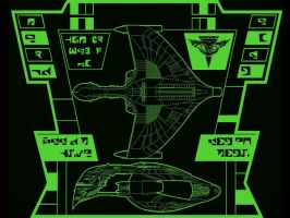 Romulan Warbird Wallpaper by Carthoris