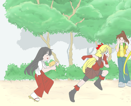 BSSM - Hunter and Hunted (animated gif) by chaneljay