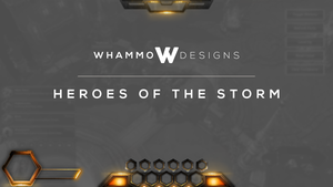Heroes of the Storm Overlay - Spazbot Studios by WhammoDesigns