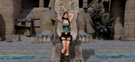 Lara in Egypt by puczkosia