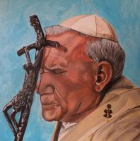 Pope John Paul II by maja135able