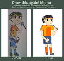 Draw it again: Double D by Rini2012