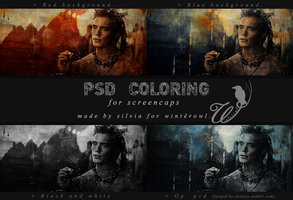 Psd coloring, Finnick Odair | Winterowl. by taxitoheaven