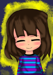 Undertale: Frisk the Human (colored) by Det2x