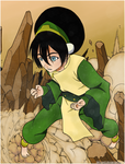 Toph -- OLD -- by Jarrizard
