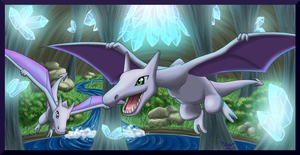 Pokedex Projekt Aerodactyl by LuckyLucario