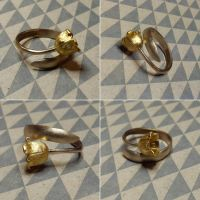 Flower Lily ring by Debals