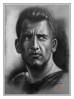 Clive Owen_charcoal by straycat27