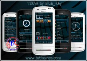 TIKAR by Blue_Ray by Brthemes