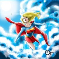 -SuperGirl- by ARTSight90