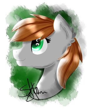 Watercolor Littlepip by SaturnStar14