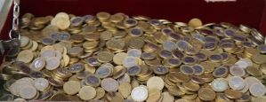 Euro Coins 4 by Gwendolyn12-stock