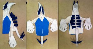 Lugia Hoodie by SpenceOlson